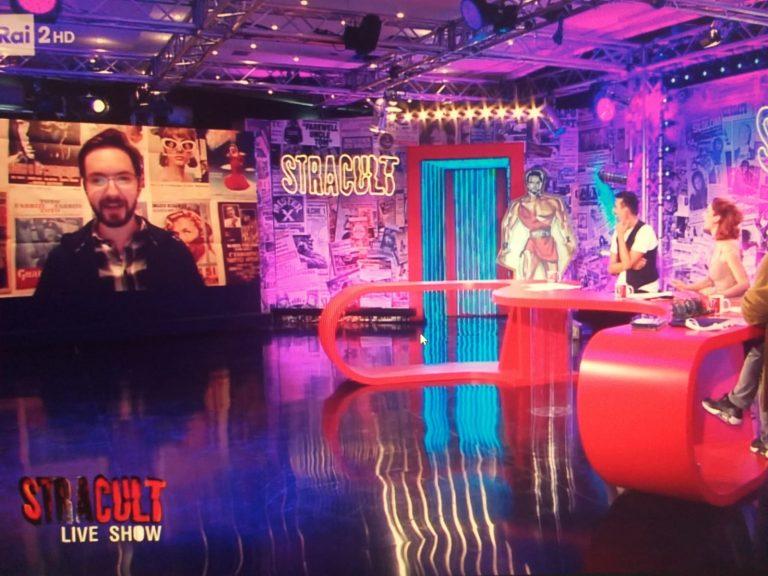 Su Rai2 il cinema di Stracult Live Show: ospiti Giampaolo Morelli, Tommaso Ragno e Andrea Meroni