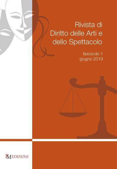 rivista di diritto delle arti e dello spettacolo