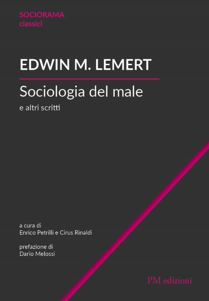 9788831222723 Sociologia del Male - Edwin M. Lemert