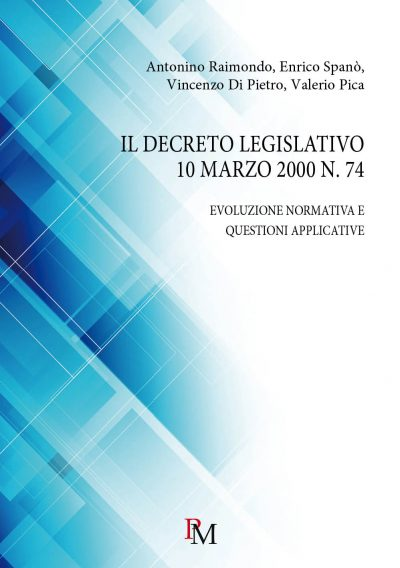 978889956590 decreto legislativo 10 marzo 2000 n. 74