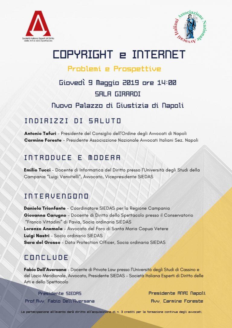 Copyright e internet. Problemi e Prospettive