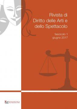 diritto delle arti e dello spettacolo 1-2017